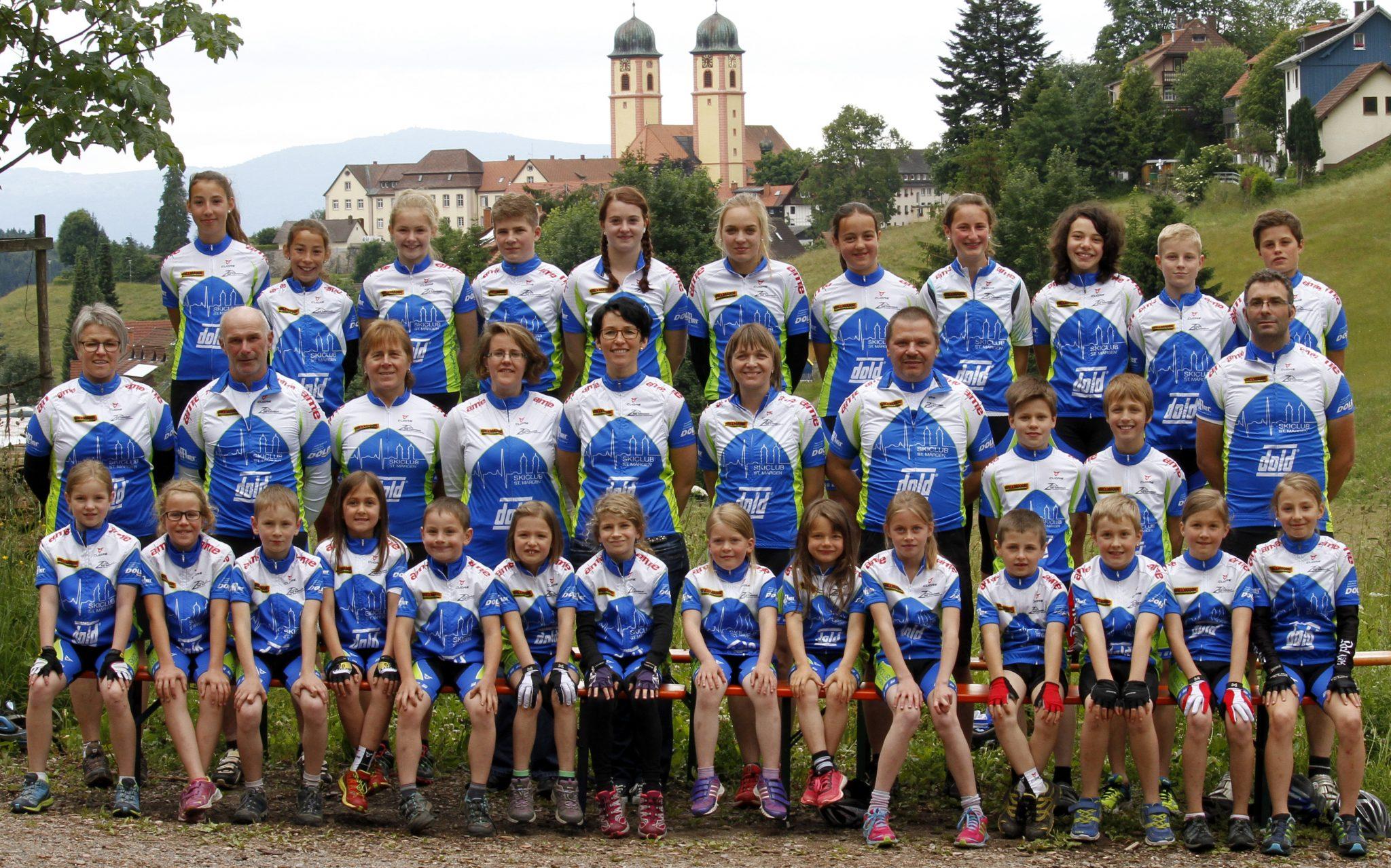 Team SkiClub St. Märgen TeamFoto 2015