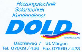 DOLD Heizungstechnik St. Märgen Logo