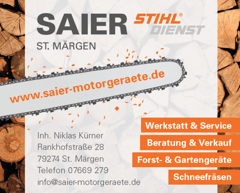 SAIER Sthil Dienst St. Märgen Logo