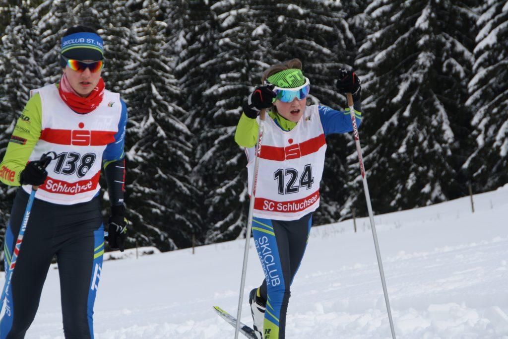 Langläufer des Ski Club St. Märgens