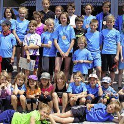 St. Märgens jüngste Sportler zeigen was sie drauf haben