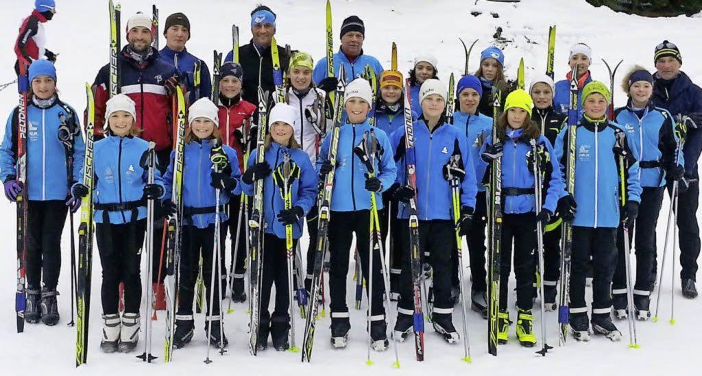 Training im Wallis