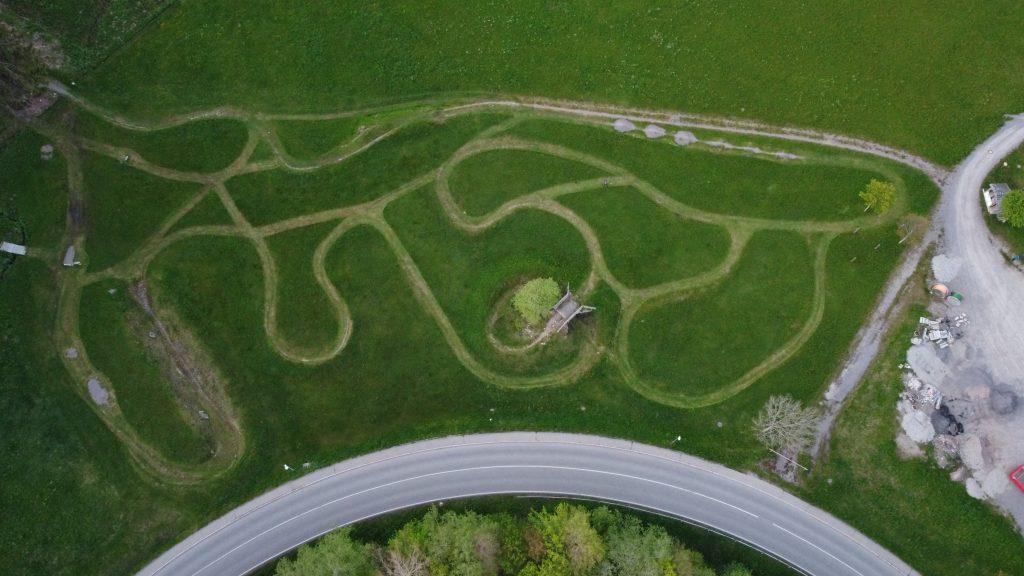 MTB Bike Strecke
